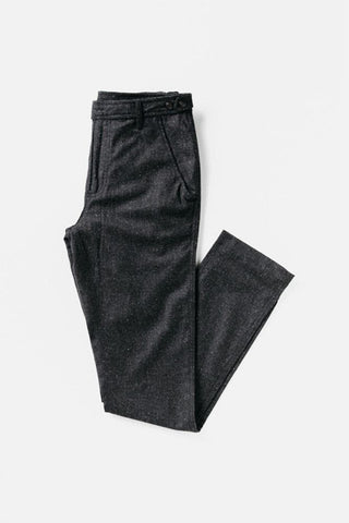Corridor Charcoal Tweed Lined Trousers