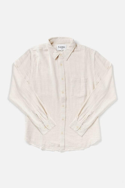 Corridor Natural Slub Twill Long Sleeve