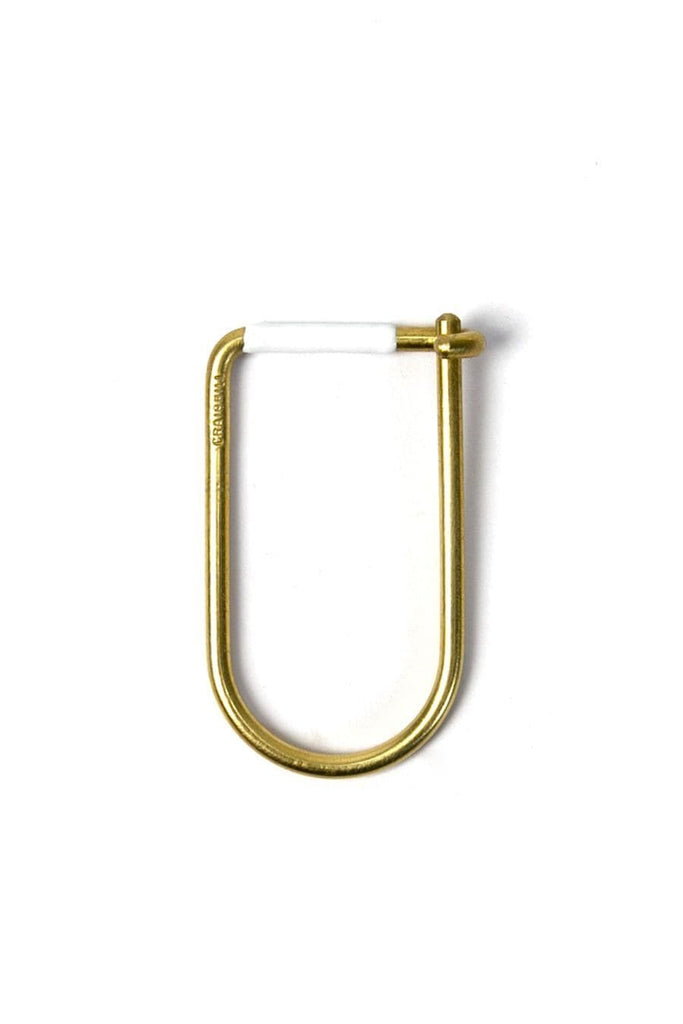 Craighill Wilson Key Ring Brass White