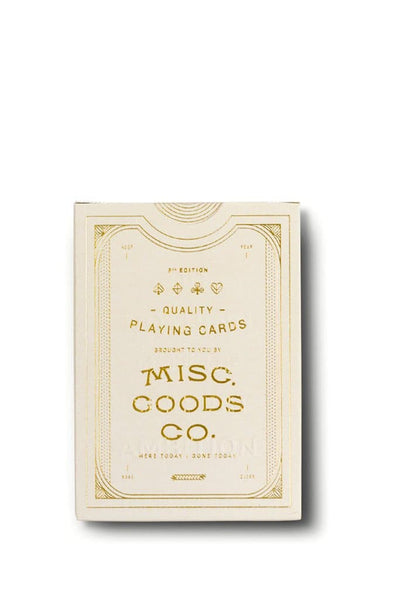 Misc. Goods Co. Cards Ivory