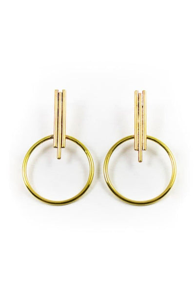 Dea Dia Halo Earrings