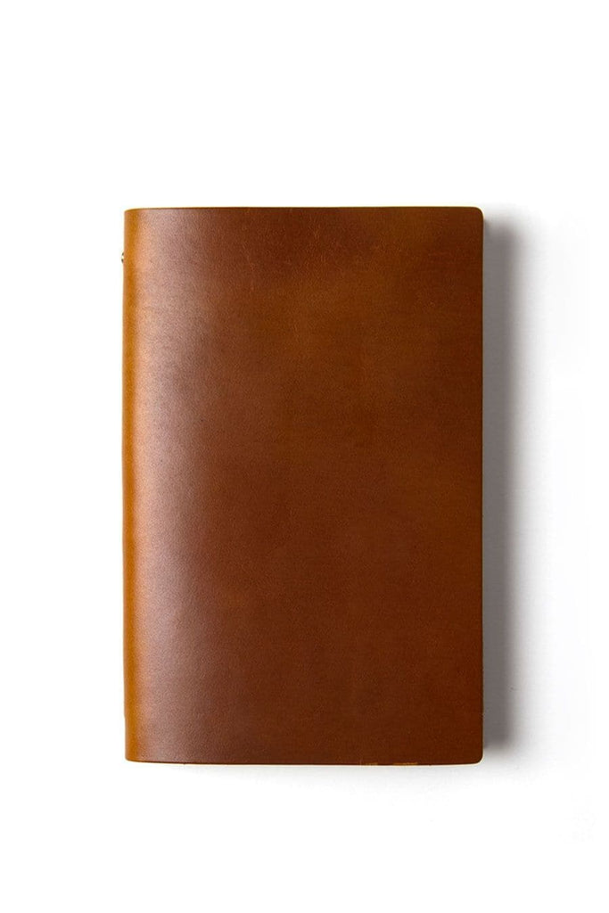 Goby Design Leather Notebook Mahogany