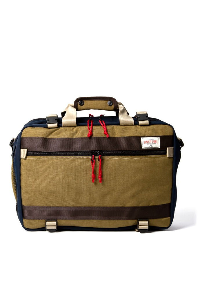 Harvest Label 3 Way Traveler Pack Khaki