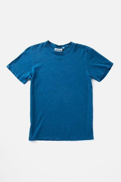 Jungmaven Baja Short Sleeve Top Lake Blue