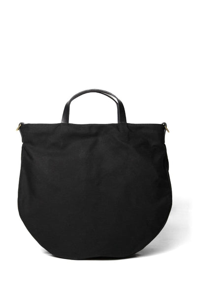 Open Habit Half Moon Bag Black