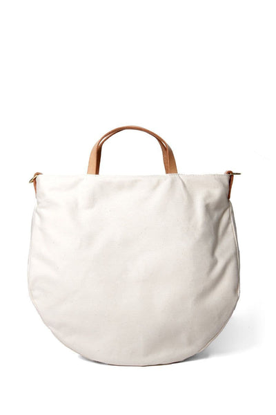 Open Habit Half Moon Bag Natural