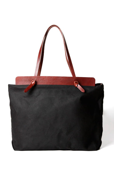 Open Habit Knotted Portfolio Black Mahogany