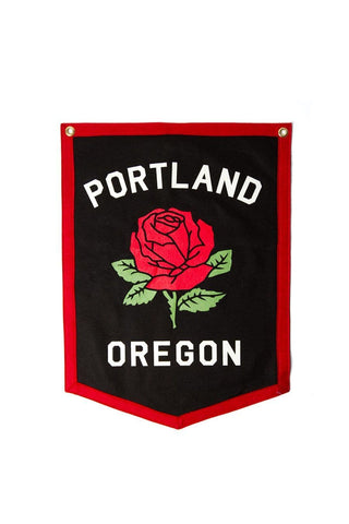 Oxford Pennant Banner Portland Rose