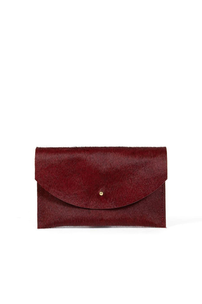 Primecut Passport Clutch Rust Cowhide