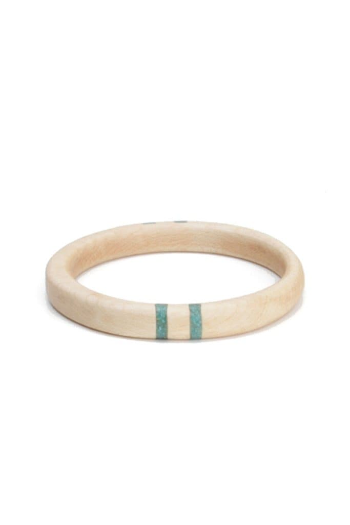 Oregon Maple Four Stripe Bangle