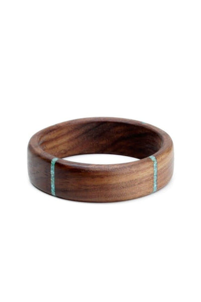 Oregon Walnut Four Stripe Bangle