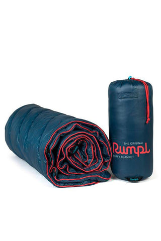 Rumpl Original Puffy Blanket Deepwater Blue