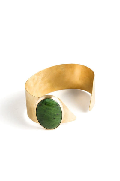 Truss and Ore Edie Cuff Jade