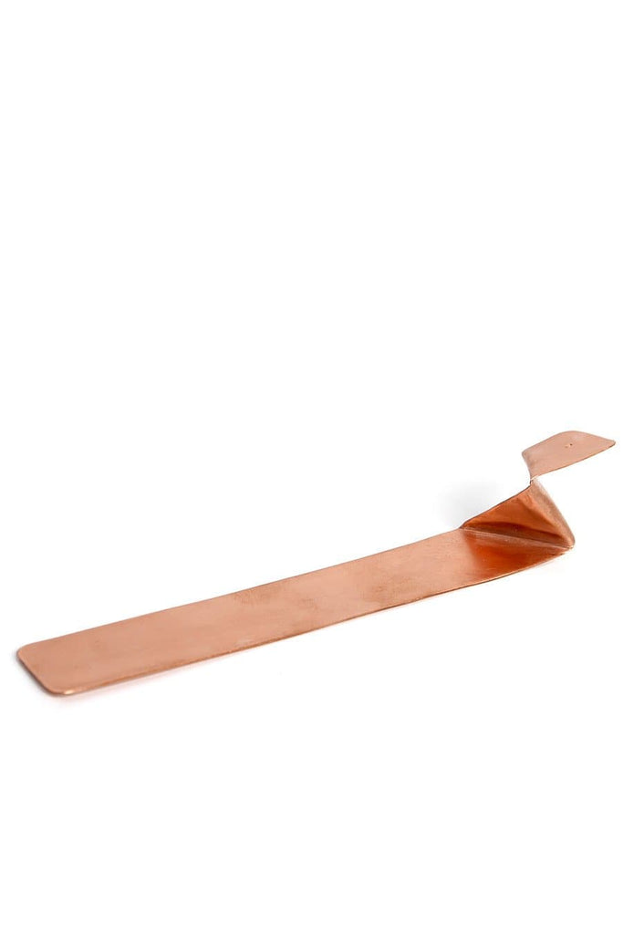 Truss and Ore Zig Zag Incense Holder Copper