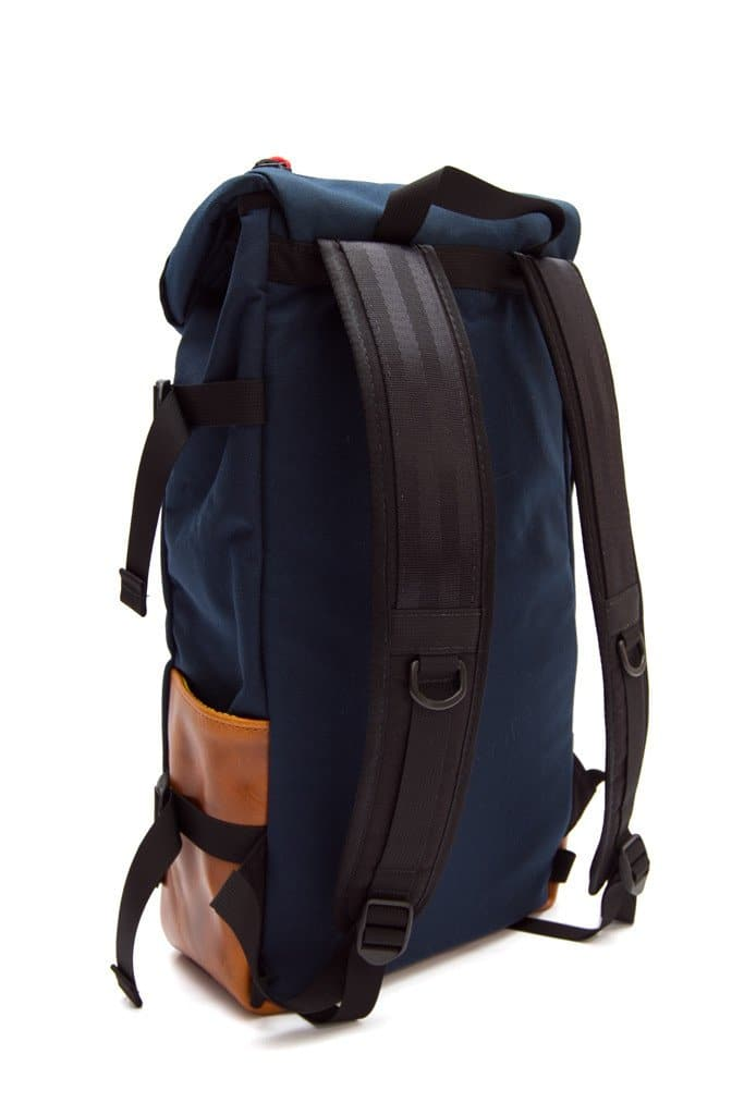 Topo Klettersack Navy Leather