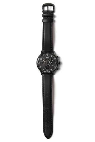 Timex Waterbury Chronograph Black on Black