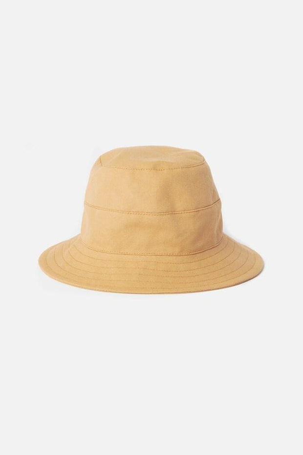Tsuyumi Cotton Canvas Bucket Hat Nutmeg