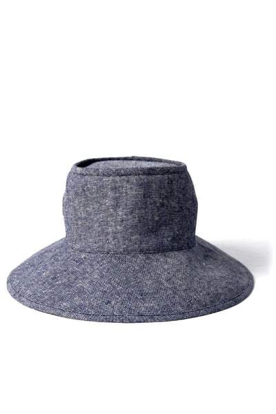 Tsuyumi Mid Brim Block Top Chambray