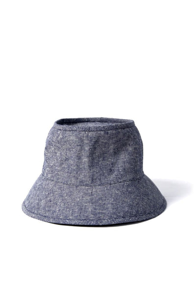 Tsuyumi Short Brim Block Top Chambray