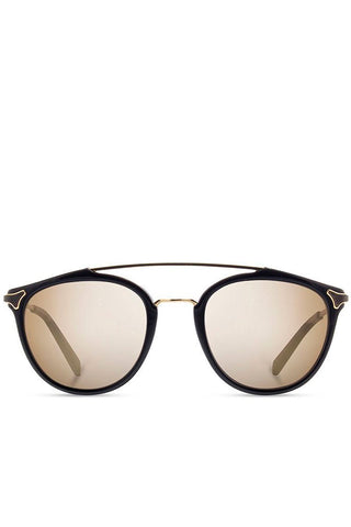 Shwood Kinsrow Black Gold Mirror