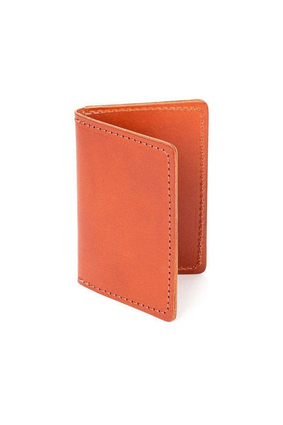 Wood&Faulk Front Pocket Wallet Chestnut