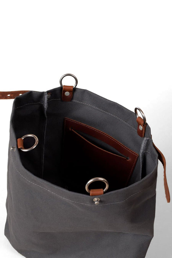 Wood&Faulk Shuttle Pack Pewter