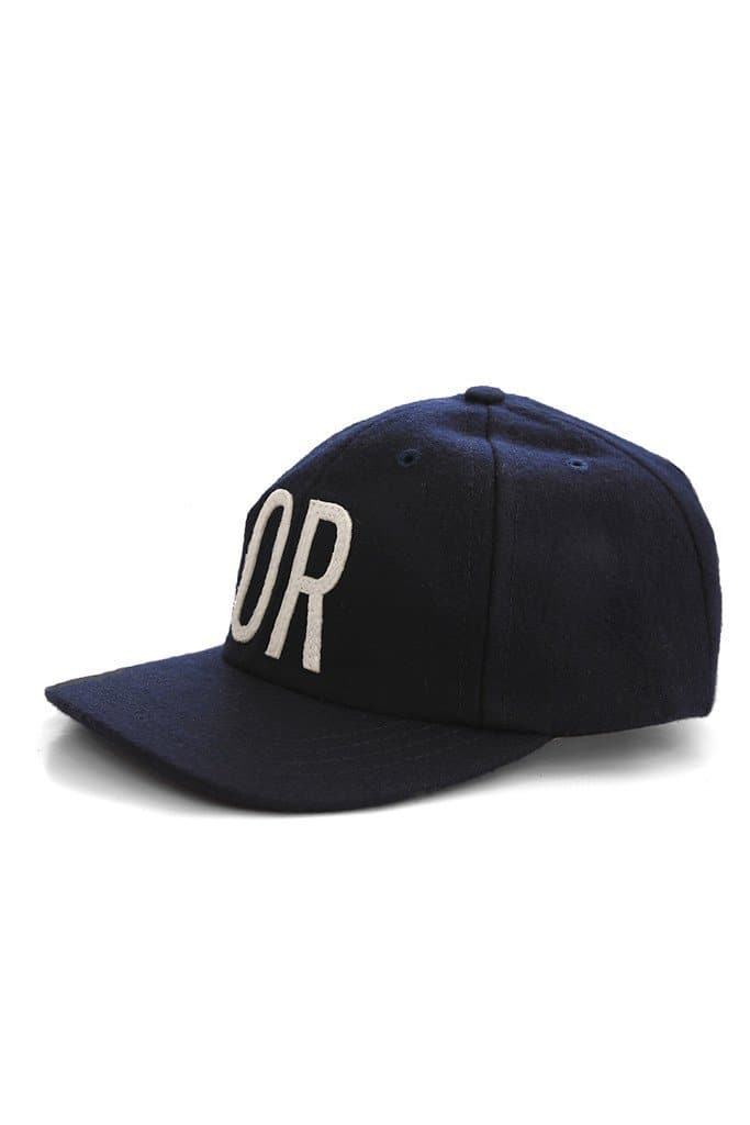 OR Cap Navy Wool