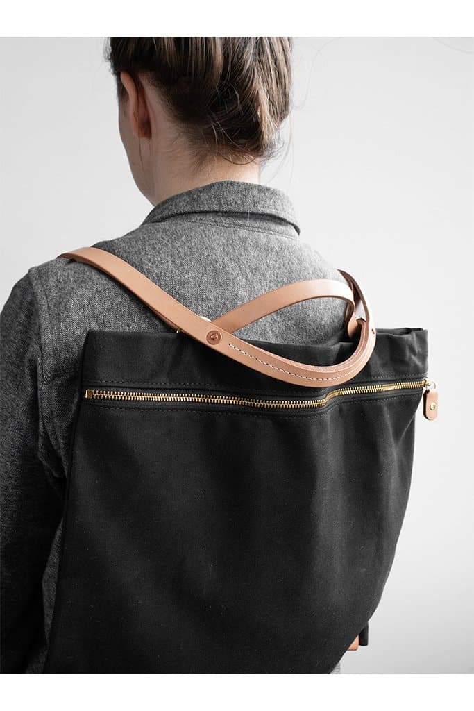Open Habit All Day Backpack Black