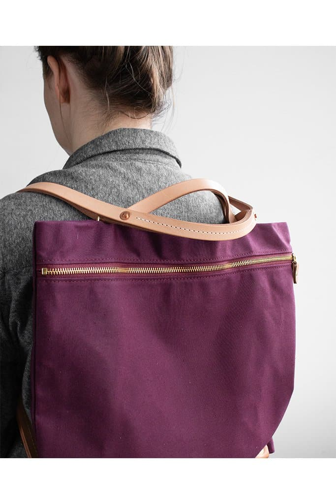 Open Habit All Day Backpack Wine