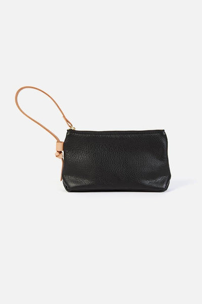 Open Habit Knotted Wristlet Black
