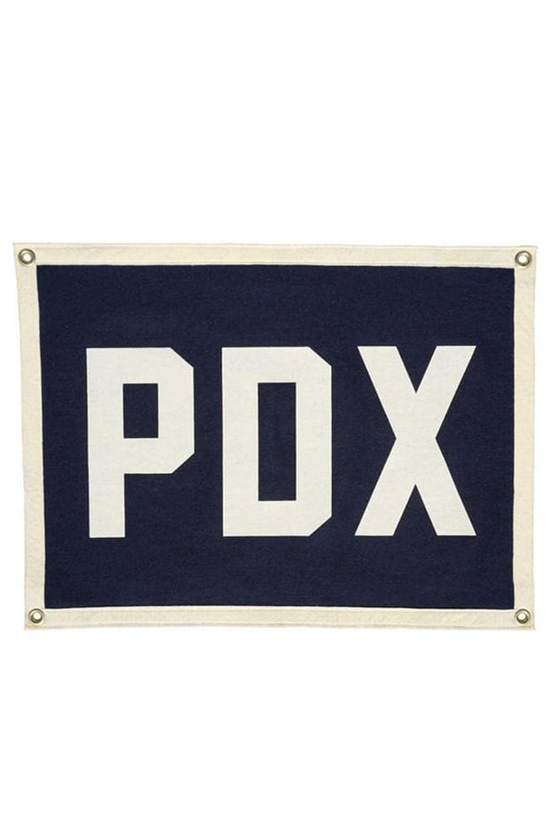 Oxford Pennant PDX Camp Flag