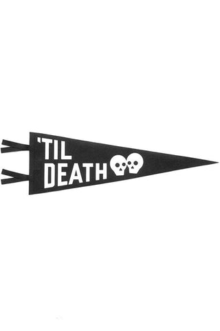 Oxford Pennant 'Til Death Wedding Mini Pennant