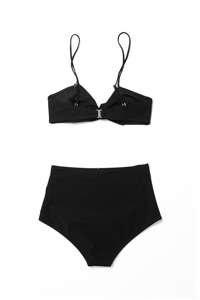 Pale Swim Jade Bikini Black women's swimsuit