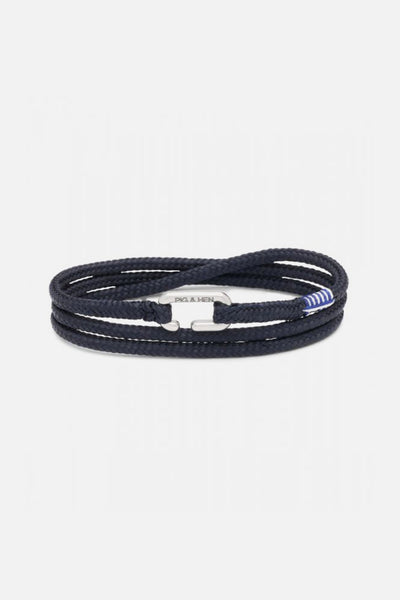 Pig & Hen Savage Sam Navy Silver