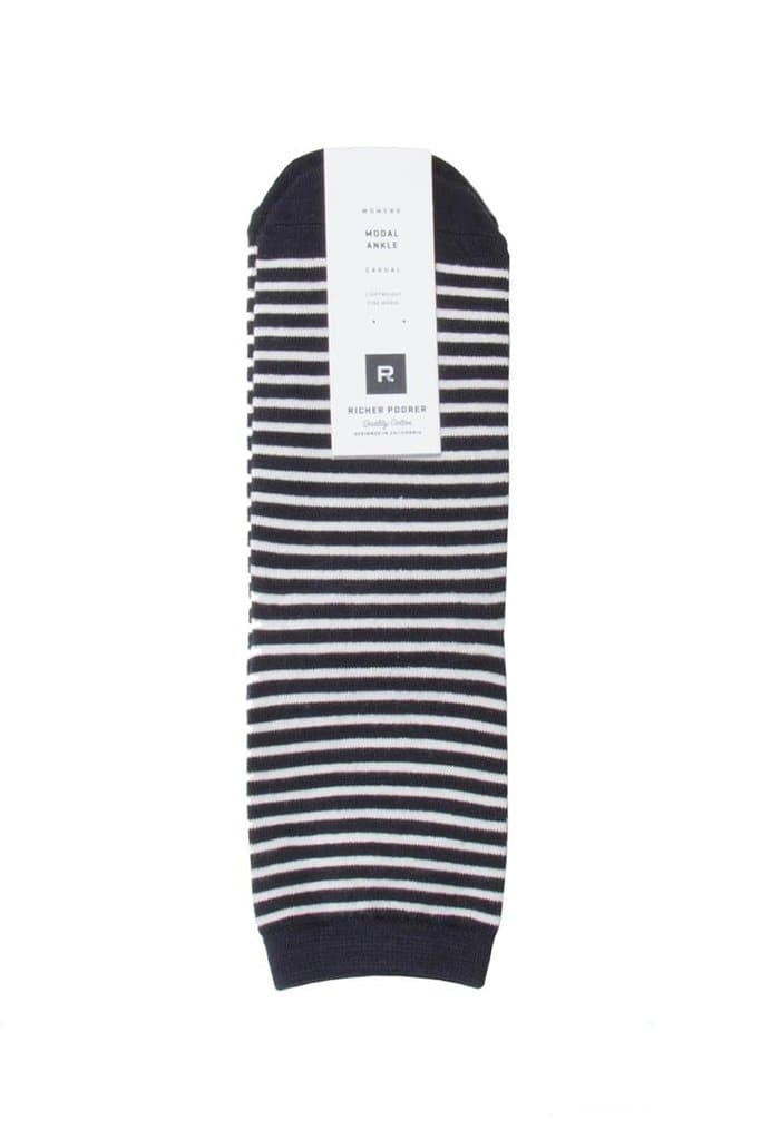 Richer Poorer Skimmer Socks Black