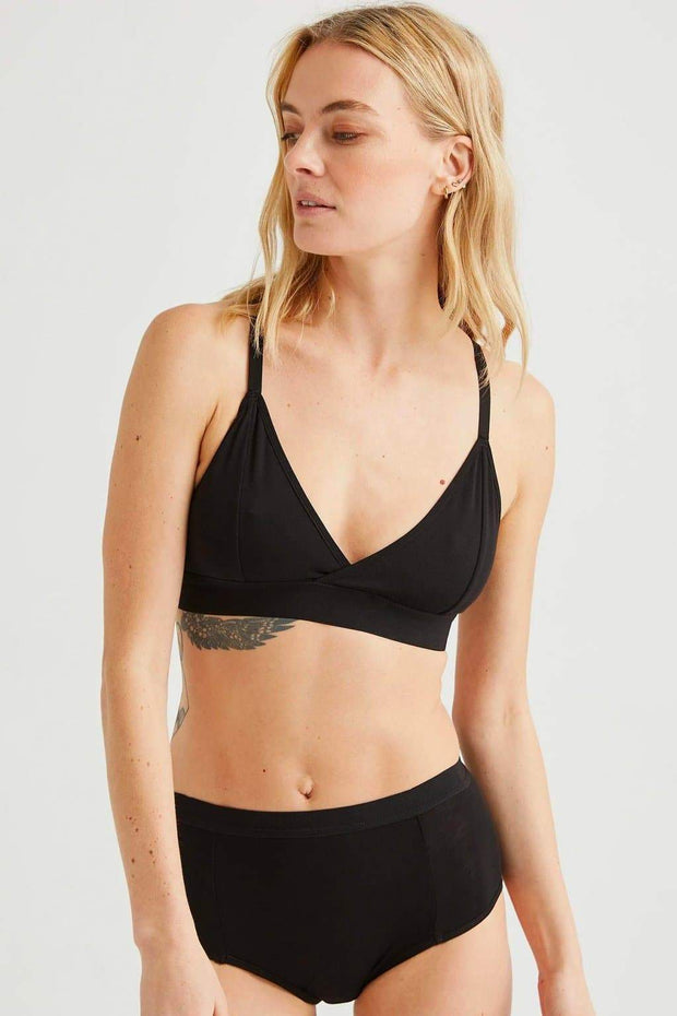 Richer Poorer Classic Bralette Black