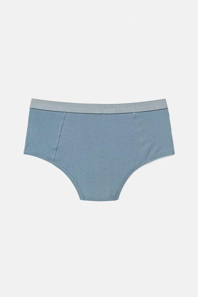 Richer Poorer High Waist Brief Blue Mirage