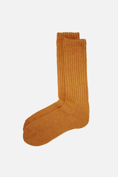 RoToTo Loose Pile Socks Mix Orange