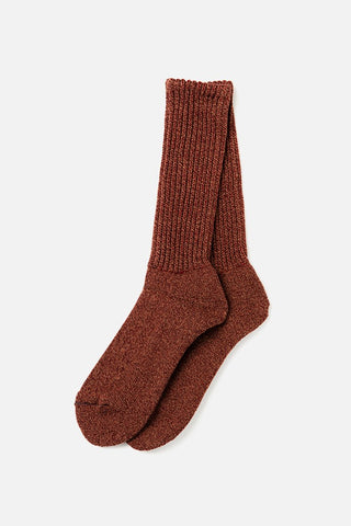 RoToTo Loose Pile Socks Red