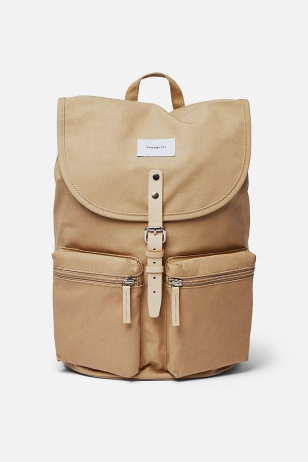 Sandqvist Roald Backpack Beige Natural