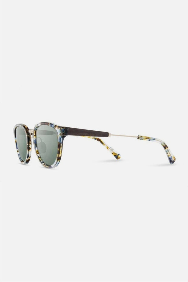 Shwood Ainsworth Blue Nebula Gold Blue Flash Polarized