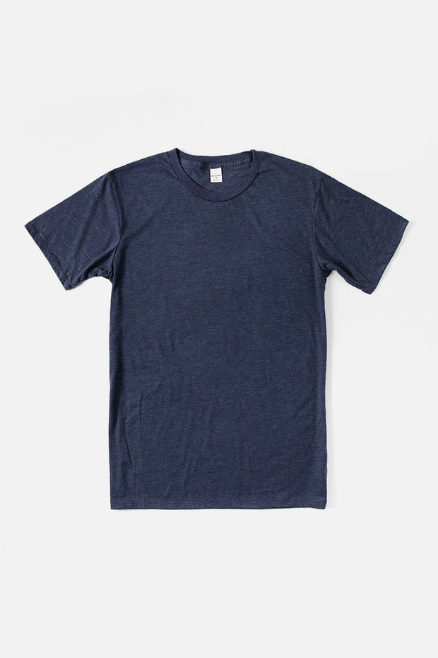 Men's Bridge & Burn Basic Tee Heather Navy