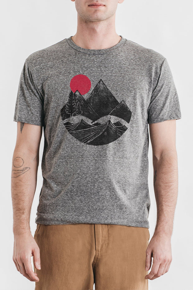 Men's Mountain Block Grey