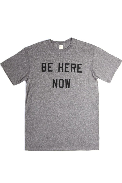 Men's Be Here Now Grey