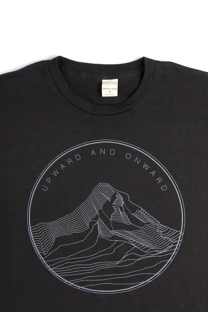 Men's Upward and Onward Black