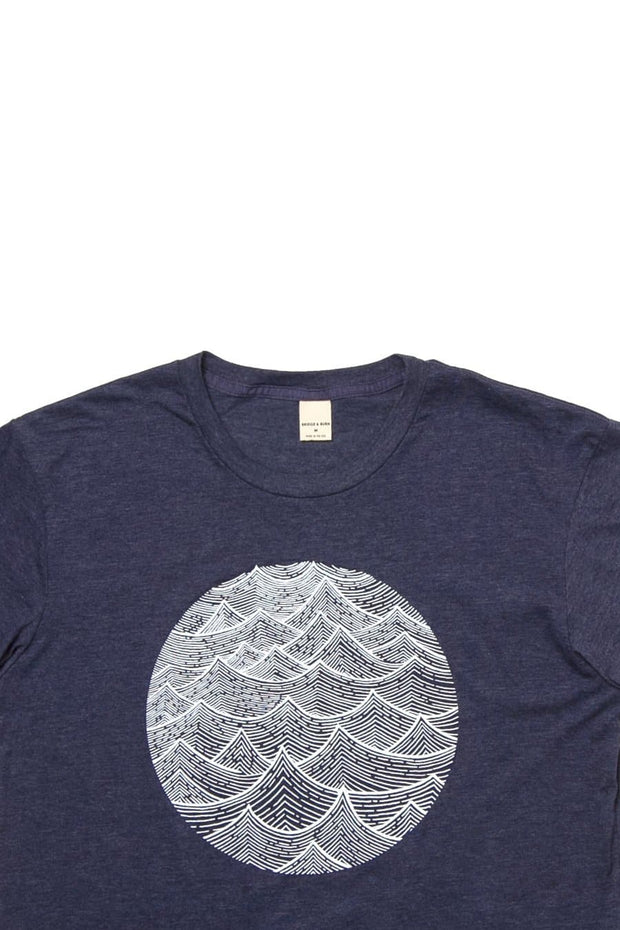 Men's Waves Navy