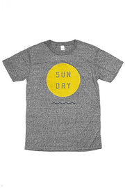 Men's Sun Day Grey T-Shirt