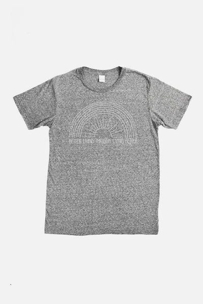 Men's Better Living Grey T-Shirt