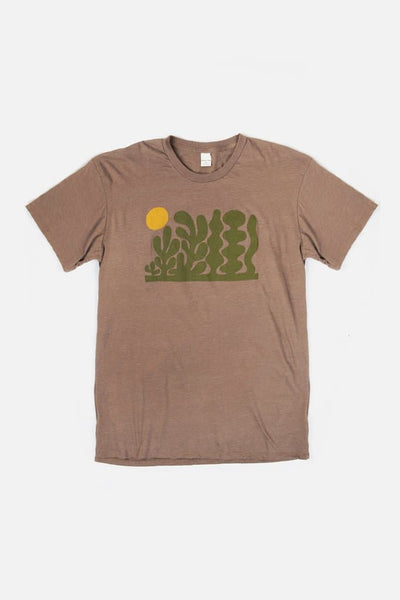 Men's Garden Heather Brown
