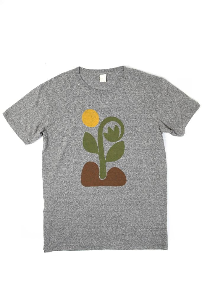 Bridge & Burn Men's Grow Grey t-shirt